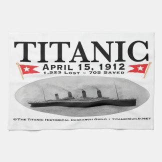 Titanic Ghost Ship Towel
