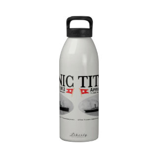 Titanic Ghost Ship Water Bottle-sizes/colors avail
