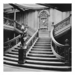 Titanic Grand Staircase Poster