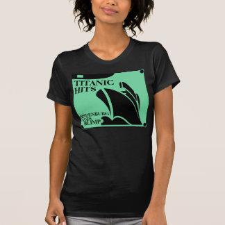TITANIC HITS HINDENBURG - GOES BLIMP T-Shirt