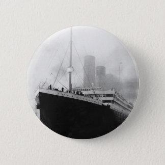 Titanic in dock in Southampton Button