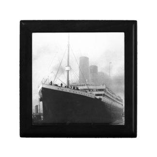 Titanic in dock in Southampton Gift Box
