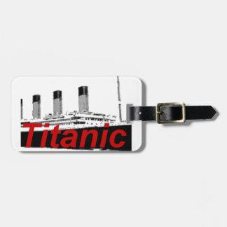 Titanic Luggage Tag