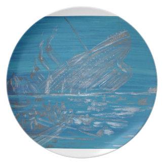 Titanic Melamine Plate