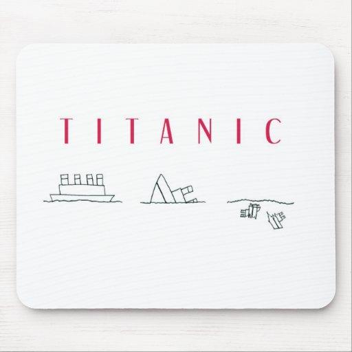 Titanic Mouse Pad