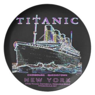 Titanic Neon (black): Kitchen: Plate