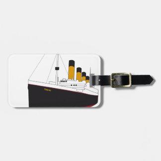 titanic original tag for luggage