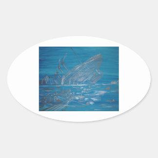 Titanic Oval Sticker