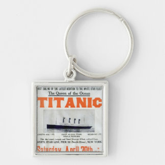 Titanic Queen Of The Ocean - White Star Line Keychain