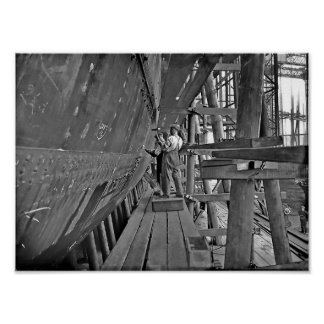 Titanic s Ironworkers Poster