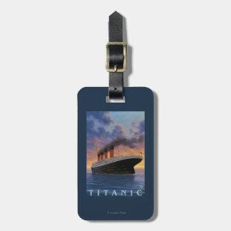 Titanic SceneWhite Star Line Bag Tag