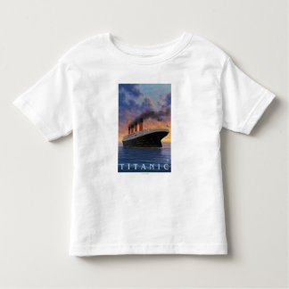 Titanic SceneWhite Star Line Toddler T-shirt