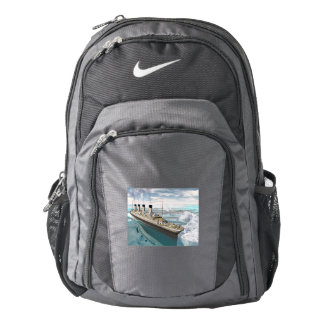 Titanic ship - 3D render Backpack