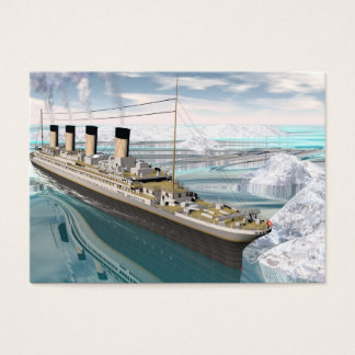 Titanic ship - 3D render Business Card