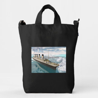 Titanic ship - 3D render Duck Bag