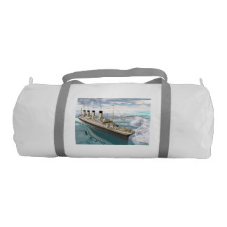Titanic ship - 3D render Duffle Bag