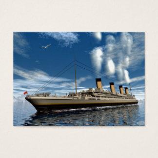 Titanic ship - 3D render.j Business Card