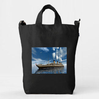 Titanic ship - 3D render.j Duck Bag