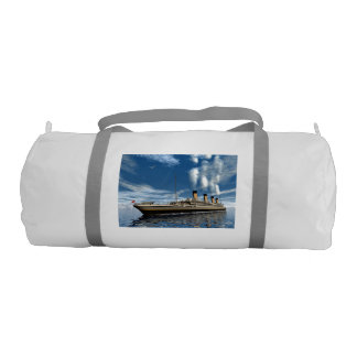 Titanic ship - 3D render.j Gym Bag