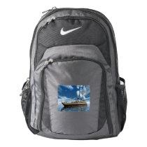 Titanic ship - 3D render.j Nike Backpack