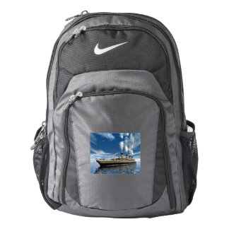 Titanic ship - 3D render.j Nike Backpack