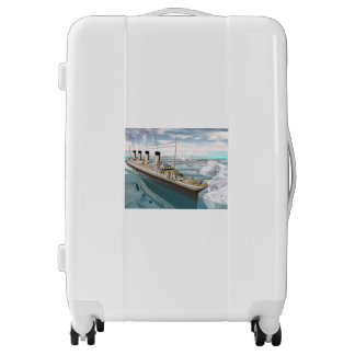 Titanic ship - 3D render Luggage