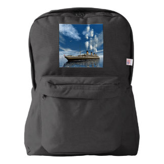 Titanic ship backpack