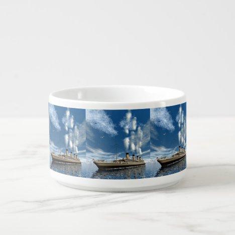 Titanic ship bowl