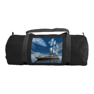 Titanic ship duffle bag