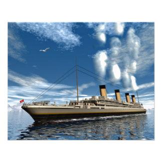Titanic ship flyer