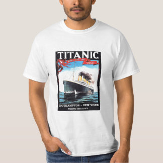 Titanic Ship T-shirt