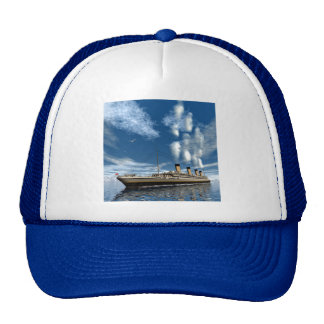 Titanic ship trucker hat