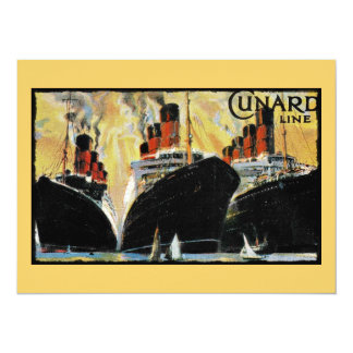 Titanic Ships in Port 1912 Card
