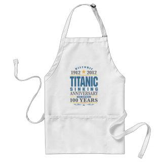 Titanic Sinking 100 Year Anniversary Apron