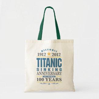 Titanic Sinking 100 Year Anniversary Bag