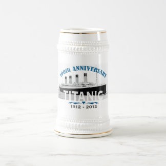 Titanic Sinking 100 Year Anniversary Beer Stein
