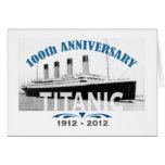 Titanic Sinking 100 Year Anniversary Greeting Cards