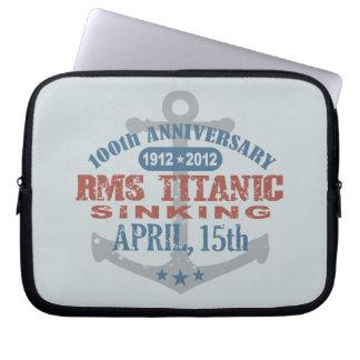 Titanic Sinking 100 Year Anniversary Computer Sleeve