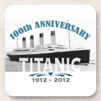 Titanic Sinking 100 Year Anniversary Drink Coasters