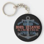 Titanic Sinking 100 Year Anniversary Keychain