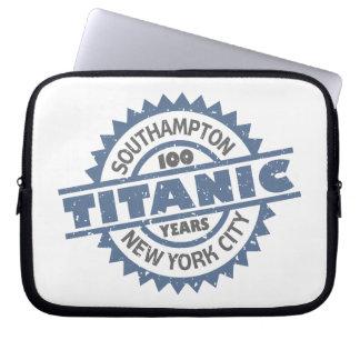 Titanic Sinking 100 Year Anniversary Laptop Sleeve