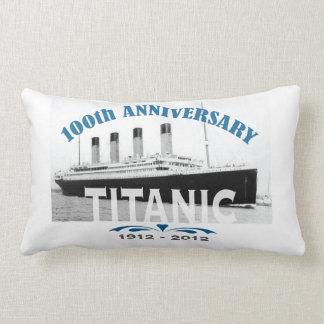 Titanic Sinking 100 Year Anniversary Lumbar Pillow