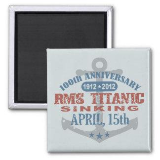 Titanic Sinking 100 Year Anniversary Refrigerator Magnets