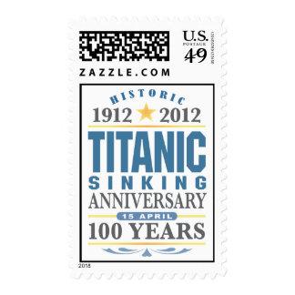 Titanic Sinking 100 Year Anniversary Postage