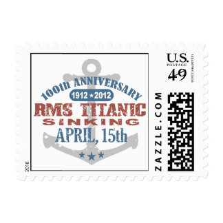 Titanic Sinking 100 Year Anniversary Postage Stamp