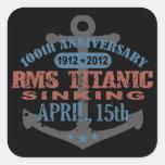 Titanic Sinking 100 Year Anniversary Stickers