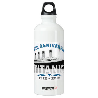 Titanic Sinking 100 Year Anniversary Water Bottle