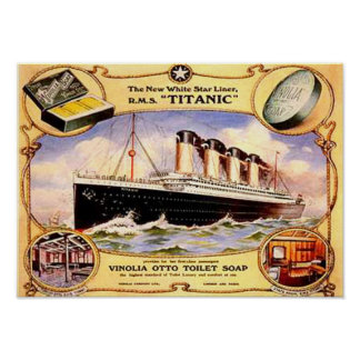 Titanic Soap Poster