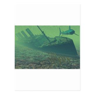 Titanic-sunk Postkarte
