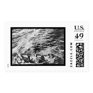 Titanic Survivors in Lifeboat 1912 Postage Stamps